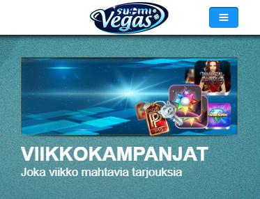 SuomiVegas viikkotarjoukset