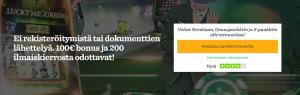 Mr Green on nyt rekisteröitymisvapaa sivusto