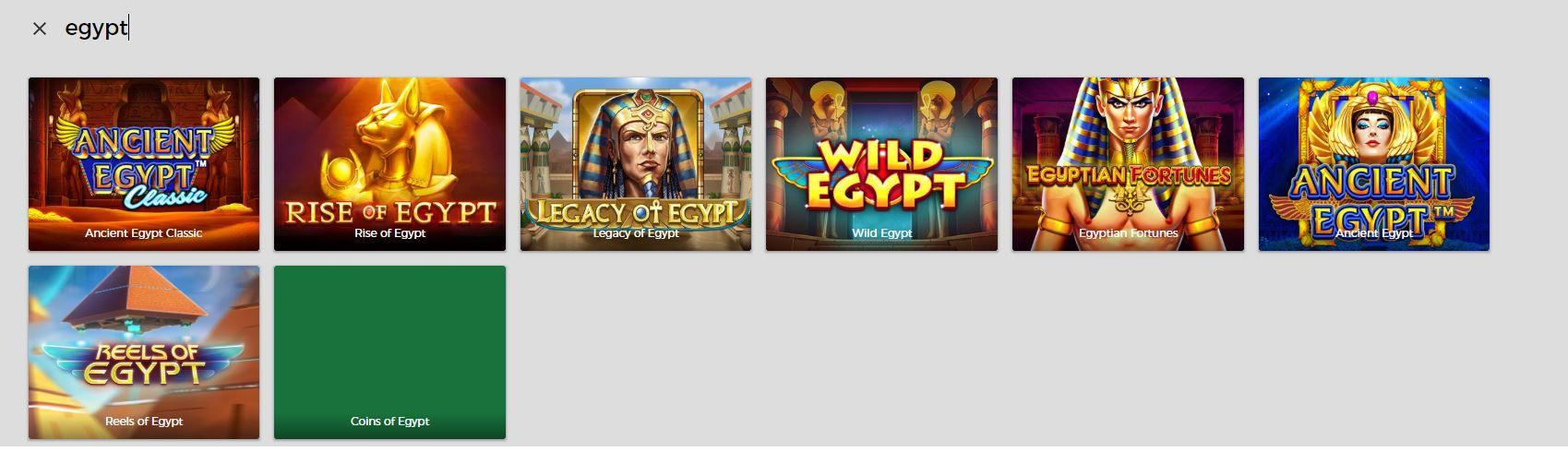 Mr Green ja Egypti