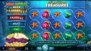 Atlantean Treasures Mega Moolah jackpotpeli